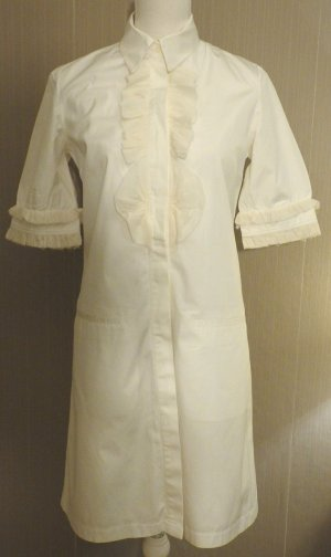 100% Originales Givenchy Hemd Kleid Gr 36 Blitzversand!
