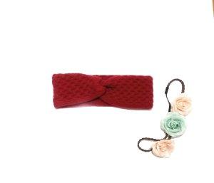 Fraas Sombrero de punto rojo ladrillo-carmín Cachemir