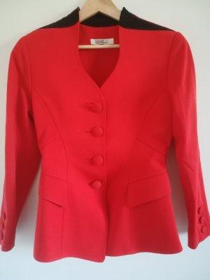 Beatrice Hympendahl Wool Blazer black-red