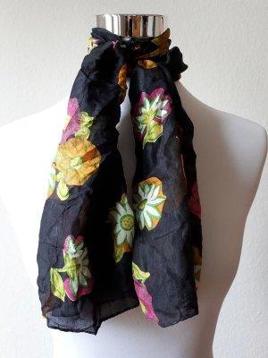 Vintage Panno di seta multicolore Seta