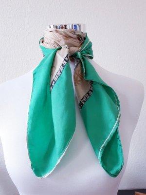 Vintage Foulard en soie multicolore soie