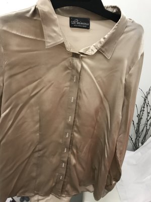 Princess goes Hollywood Blouse brillante beige
