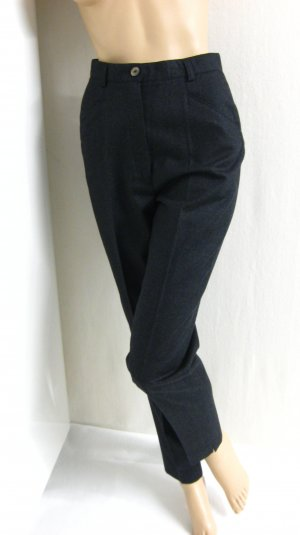Woolen Trousers anthracite wool