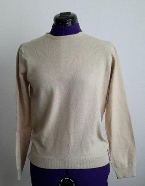 Maglione di lana crema Lana
