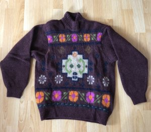 Benetton Knitted Sweater multicolored wool