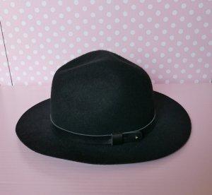 HM Cappello di lana nero Cotone
