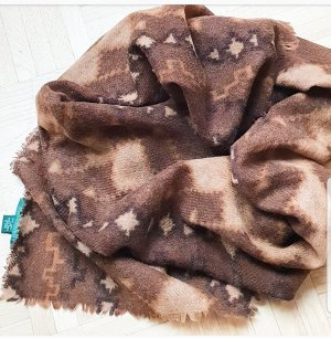 Ralph Lauren Bufanda de lana marrón