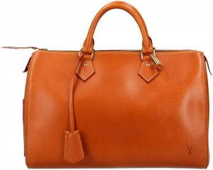10280 Louis Vuitton Speedy 30 Nomade Leder Farbe Caramel Tasche Handtasche