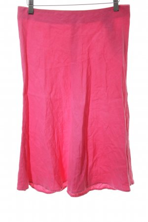 120% Lino Linen Skirt pink casual look