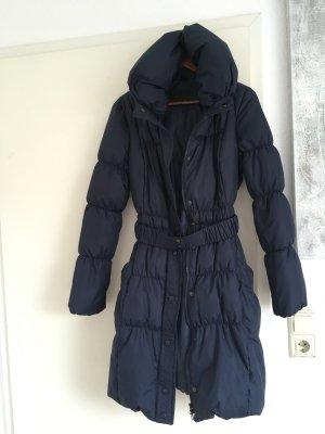 120€ Vero Moda Daunen Mantel blau Parka Winterjacke Mantel Marine gefüttert
