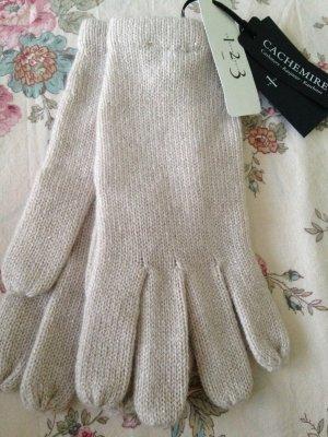 123 Blassrosa Handschuhe aus Kaschmir Ustavio Neu