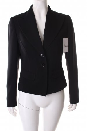 123 Blazer negro estilo «business»