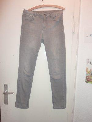 123 Paris graue Jeansröhre 34/36