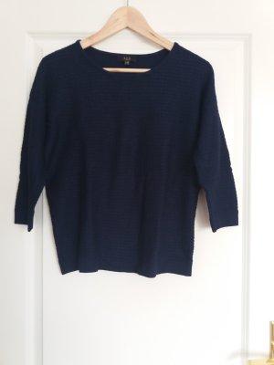 1.2.3 Paris Maglione blu scuro Tessuto misto