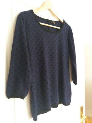 1.2.3 Paris Sweater black-dark blue