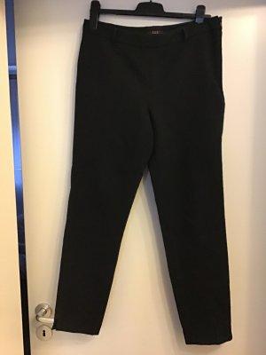 123 Paris schwarze hochwertige Stoff Hose gr.40