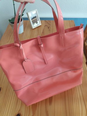 1.2.3 Paris Borsa shopper salmone-albicocca