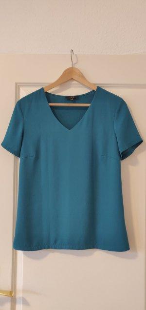 1.2.3 Paris T-shirt bleu pétrole-bleu cadet viscose