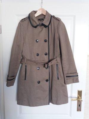1.2.3 Paris Trenchcoat multicolore coton