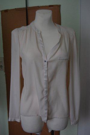 1.2.3 Paris Zijden blouse wolwit Zijde