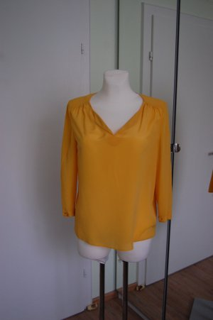 1.2.3 Paris Blusa in seta giallo-oro Seta