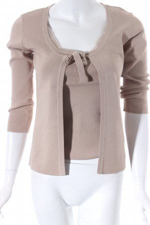 123 Strick Twin Set beige Casual-Look