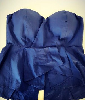 Backless Top blue