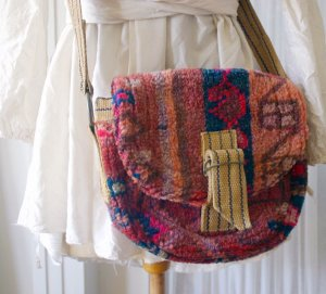 Dries van Noten Borsa a spalla multicolore