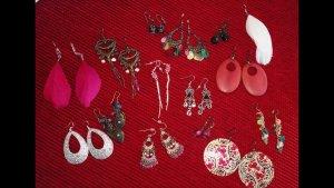 14 Paar (28teilig) Ohrringe Modeschmuck