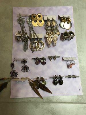 16 Paar Ohrringe