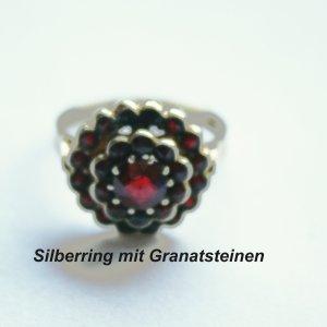 1659 - Gest.900 G2 - Granatring Größe 52
