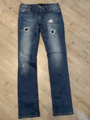 17&co Tube Jeans steel blue