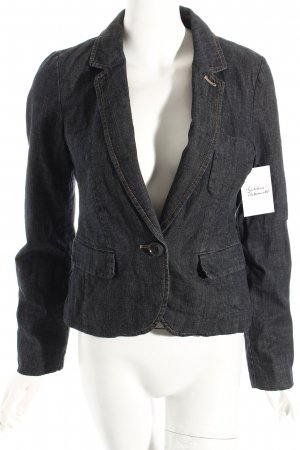 17&co Jeansblazer dunkelblau Urban-Look