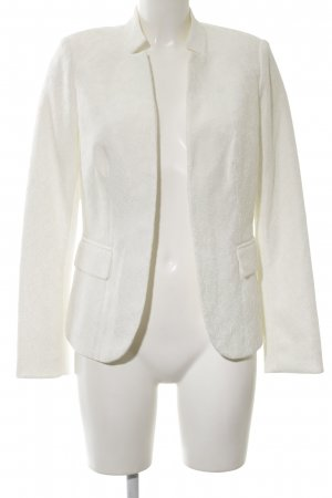 17&co Blazer court blanc cassé style d'affaires