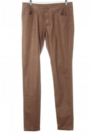 17&co Leather Trousers bronze-colored casual look