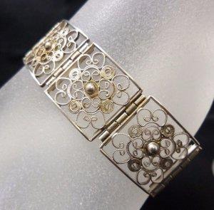 1910-1920er Jahre antik Jugendstil Art Deco Armband 835 Silber