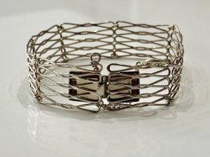 1920 Antik Gliederarmband 835 Silber Armband