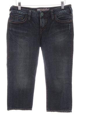 1921 Jeans 3/4 noir style décontracté
