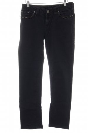 1921 Boot Cut Jeans schwarz Country-Look