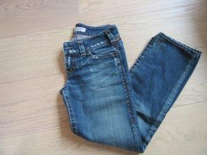 1921 7/8-broek blauw Katoen