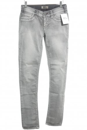 1921 Skinny Jeans grau Washed-Optik