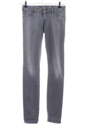 1921 Jeans slim gris clair style décontracté
