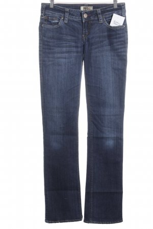 1921 Slim Jeans dark blue-steel blue casual look