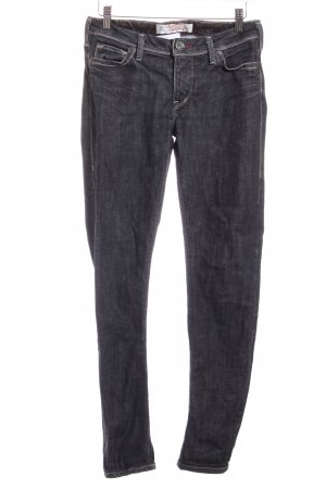 1921 Slim Jeans dunkelblau-wollweiß Washed-Optik