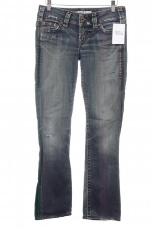1921 Straight-Leg Jeans stahlblau Casual-Look