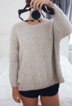 199,95€ Better Rich Pullover Wolle weich Alpaca beige oversized groß kuschelig XS 34