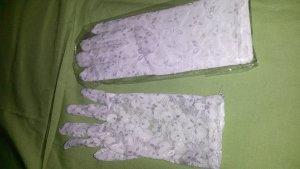 Net Gloves white