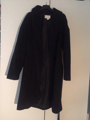 H&M Conscious Collection Wollen jas zwart