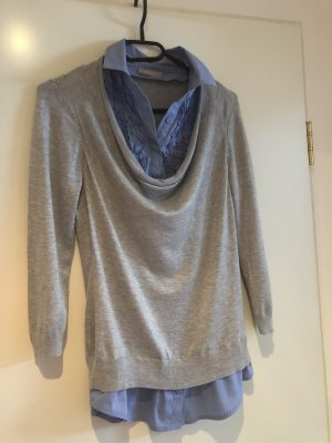 Orsay Short Sleeve Sweater grey-azure