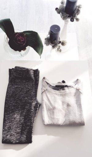 (2 Artikeln) Zwei teiliges Set - Loungehose & Sweatshirt ! Der Kuschelbegleiter!